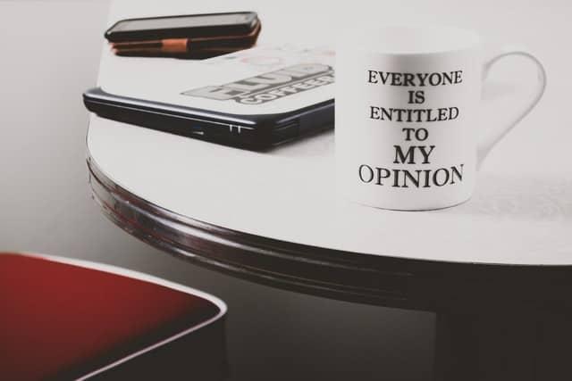 3 tips för att hantera åsikter